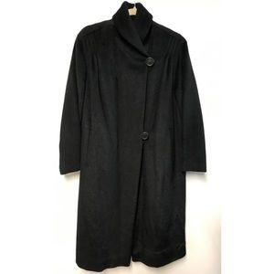Vintage Lilli Ann Wool Coat Black